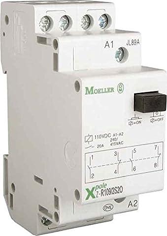 Eaton Z-R230/SO Installationsrelais, 230 V AC, 1 Schliesser, 1 Öffner, 2-polig, 265181