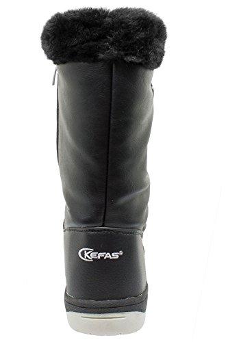Kefas - Laurel 3404 - Bottes de neige Femme Noir