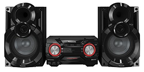 Panasonic SC-AKX400EBK 600 W Speaker System with Wireless Audio Streaming and 2 GB Internal Memory - Black