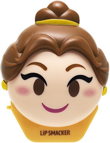 LIP SMACKER - Baume à lèvres Emoji Belle Disney - Parfum Rose - Protège et hydrate vos lèvres - Packaging mignon - Made in Los Angeles - 100% Cruelty Free