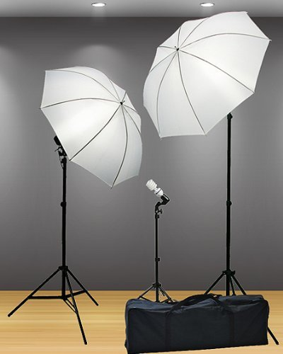 800 Watt Video Lighting Kit Photography Lighting kit Umbrella Softbox Kit And Background Light By Fancier F304