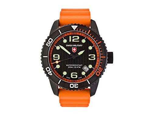 CX Swiss Military Watch Marlin Scuba Nero 2708