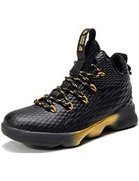 new product 4f74f 58e2f SINOES Hombre Mujer Zapatillas de Baloncesto Calzado Deportivo Al Aire  Libre High-Top Sneaker Antideslizante