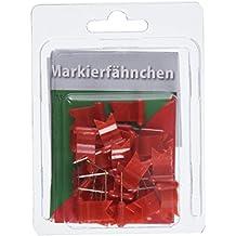 Freytag Berndt Markierpins, wehende Markierfähnchen, rot - 30 Stück (freytag & berndt Bücher + Specials)