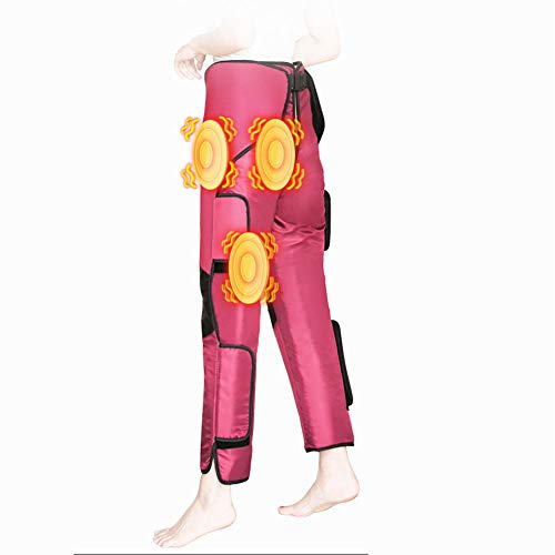 MOXIN Beine Massagegeräte Mit Heizfunktion, Weit Infrarot Heizung Bein Massager Vibration Hüfte Joint Taille Massage Gemeinsamen Physiotherapie Instrument Gewicht Verlust Instrument -