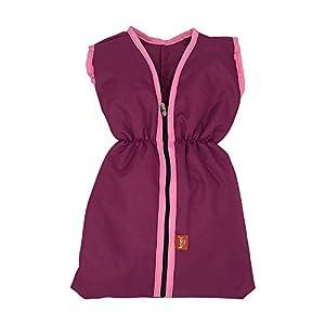Knorrtoys 15574 - Saco de Dormir para muñecas, Color Rosa y Morado