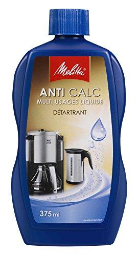 Melitta Disincrostante Anti Calc Multi-uso liquida, confezione da 375 ml