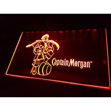 Captain Morgan Rum Bombilla LED Cartel Cartel Cargar Reklame Neon Neon Cartel Pub Bar Disco