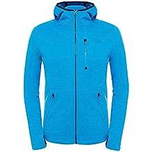 The North Face W Rafford Full Zip Hoodie - Chaqueta para mujer, color azul, talla M
