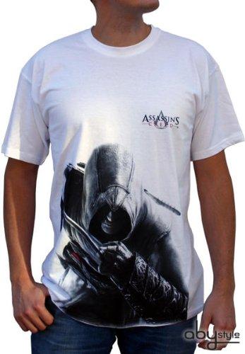 Assasins Creed - Altair T-Shirt Gr. S Tee Original und Lizensiert (Anime Cosplay) (Assasin Creed Kostüme)