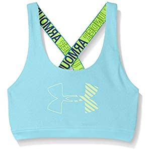 Under Armour Mädchen HeatGear Graphic Sport Bra