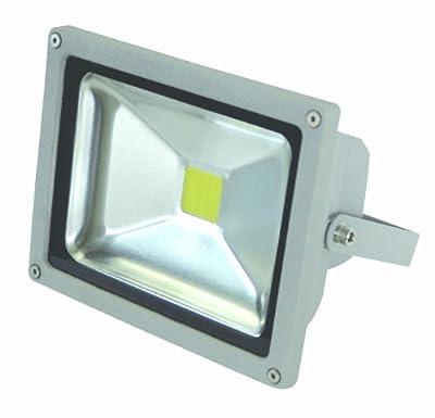 20 W LED Fluter Wandstrahler IP65 mit Stecker von End of the Dark auf Lampenhans.de