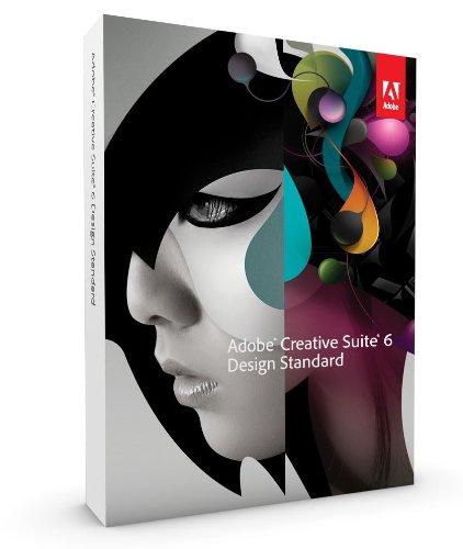 Adobe Creative Suite 6 Design Standard Upgrade von CS5.5 englisch MAC
