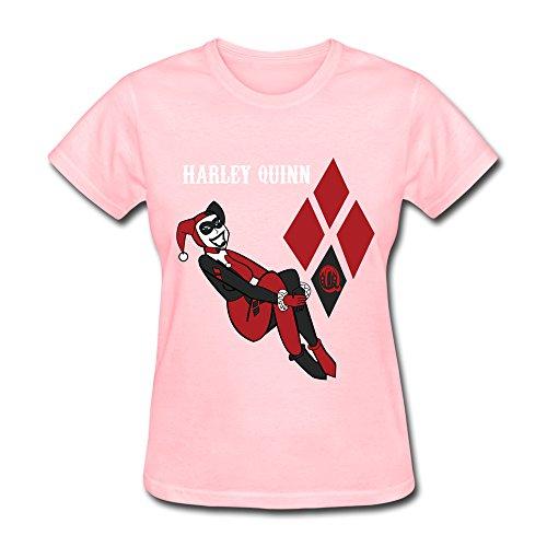 Catees Damen T-Shirt Gr. M, Rosa - Pink