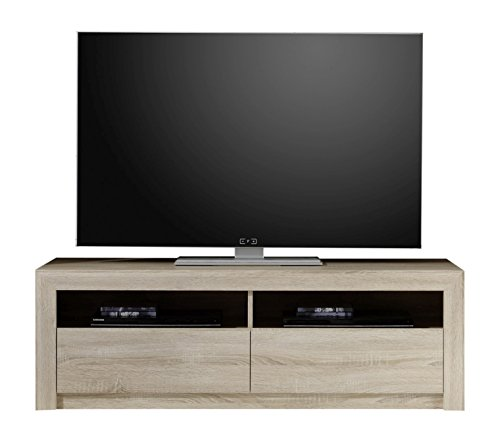 trendteam sv31445 tv m bel lowboard eiche sonoma hell tv. Black Bedroom Furniture Sets. Home Design Ideas