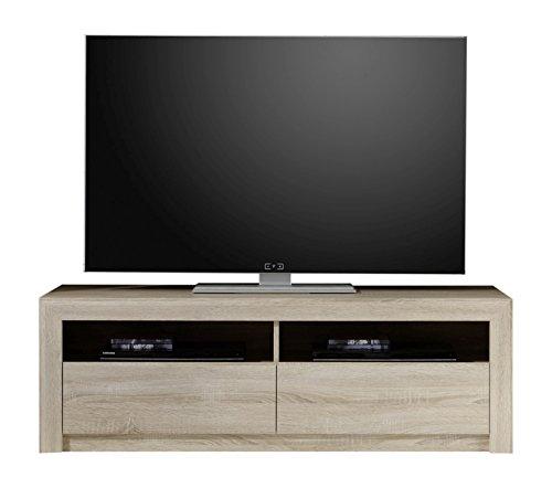 trendteam sv31445 tv m bel lowboard eiche sonoma hell tv. Black Bedroom Furniture Sets. Home Design Ideas