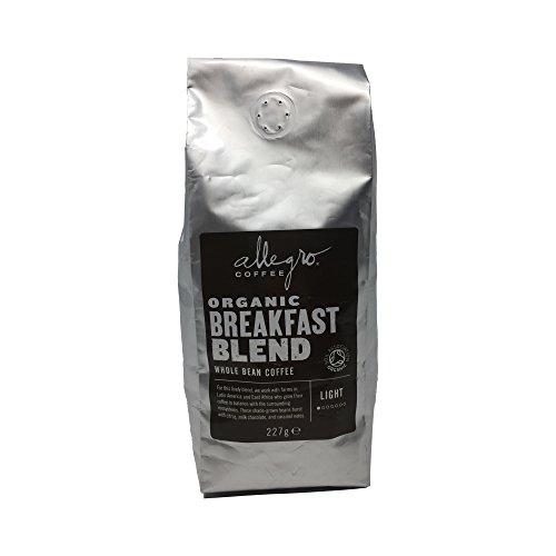 Allegro Coffee Organic Breakfast Blend Whole Bean Coffee, 227 g 411Fm0LKERL best coffee maker Best Coffee Maker 411Fm0LKERL