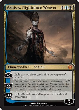 Magic: the Gathering - Ashiok, Nightmare Weaver (188/249) - Theros - Foil by Magic: the Gathering