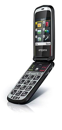 Emporia V34 tasti Glam grande a forma di cellulare (a colori display, MMS, pulsante di emergenza, 2 Megapixel fotocamera) con SW/BDA per UK/Malta/UK