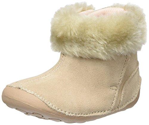 Clarks Crianças, Bebé, Pequeno Salto Rastejando Bege Sapatos (camurça Natural)