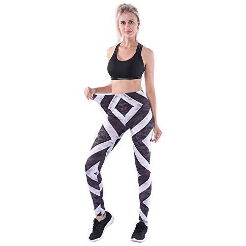 Odjoy-fan nove punti stampa ghette pantaloni da yoga sportivi delle ghette di forma fisica della palestra degli sport vita alta donne yoga pantaloncini leggins sportivi donna vita alta palestra