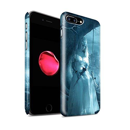 Officiel Elena Dudina Coque / Clipser Matte Etui pour Apple iPhone 8 Plus / Relation amicale Design / Art Amour Collection Luz Sombra