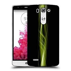 Snoogg Lite Green Abstract Design Designer Protective Phone Back Case Cover For LG G3 BEAT STYLUS