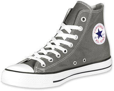 Converse All Star Chaussures En Toile Baskets Montantes (Charcoal -
