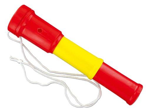 Air Blaster Fußball Fantröte Stadiontröte , Farbe:rot/gelb/rot