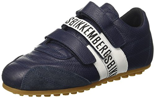 Bikkembergs Soccer 106, Zapatillas Unisex Adulto, Azul (White/Bluette), 36 EU