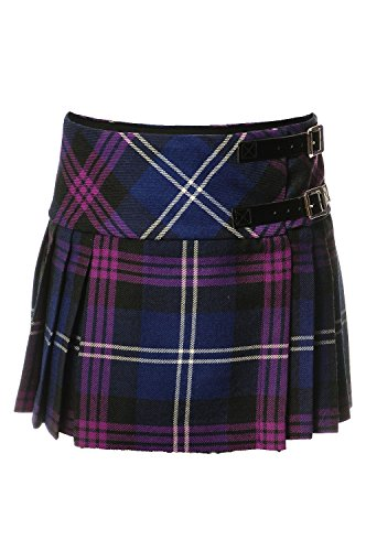 Baby Girls Luxury Scottish Billie Kilt/Mini Skirt Available in 3 Tartans New (3-4 Years, Heritage of Scotland) (Tartan-mini-kilt)