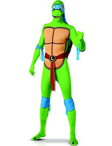 (Generique - Leonardo Ninja Turtles Kostüm für Erwachsene - Zweite Haut L)
