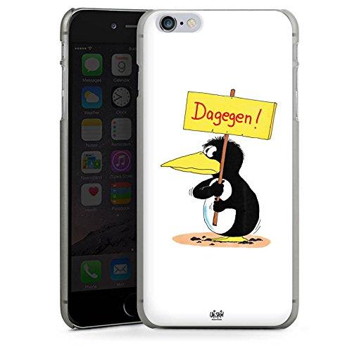 Apple iPhone X Silikon Hülle Case Schutzhülle Uli Stein Fanartikel Merchandise Dagegen Hard Case anthrazit-klar