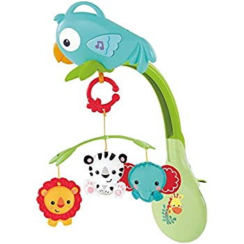Basketu Baby & Toddler Clothing Baby Mobile Quite Different Bought In Italy Red Ballons With 3 Animals Clothing, Shoes & Accessories