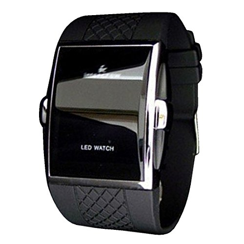 byd-led-watch-unisex-uhren-watch-silikongel-schwarz-digitals-quarzwerk-digital