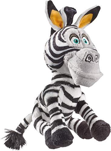 Schmidt Spiele 42709 DreamWorks Madagascar, Marty, Plüschfigur Zebra, klein, 18 cm, bunt