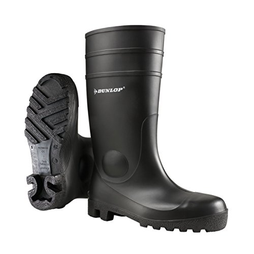Dunlop 142PP Protomastor Full Safety Schwarz ,43 EU