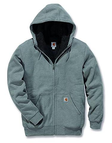 Carhartt 100072 Colliston Brushed Fleece Sherpa Lined Sweatshirt -