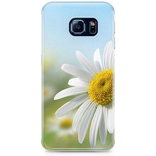 Queen Of Cases Coque pour Apple iPhone 6Plus/6S Plus-Marguerites en Sunshine-Premium Bleu en plastique
