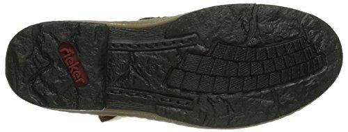 Rieker Z6782-23, Stivali altezza metà polpaccio Donna Marrone (Braun (muskat/kastanie/natur / 23))