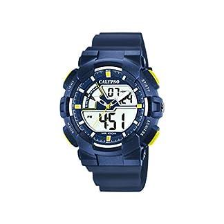 Calypso Watches Reloj Analógico-Digital para Hombre de Cuarzo con Correa en Plástico K5771/3
