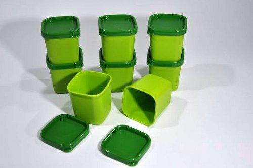 Tupperware(c) MicroGourmet, Förmchen(8) grün