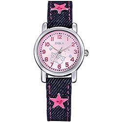 fashion children watch/Student quartz watch/Clean the watch-D