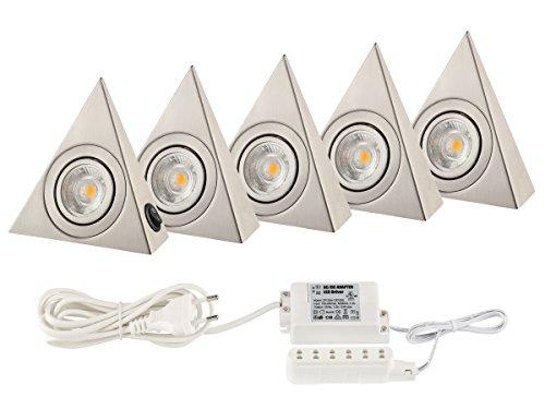 Küchenlicht Küchen Unterbauleuchten COB LED je. 160 Lumen 1 -6 Stück (5 Stück mit Trafo) 160 Lumen Led