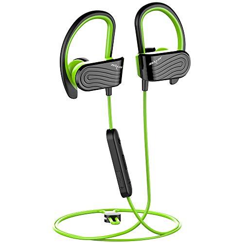 Bluetooth Kopfhörer Sport Zealot H12 Bluetooth 5.0 Hi-Fi Stereo Wasserdicht Sport Kopfhörer mit 8 Stunden-Spielzeit Aufbewahrungstasche AptX für Laufen/Joggen/Fitness
