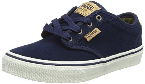 Vans Unisex-Kinder Atwood Deluxe VZSTK6T Low-Top, Blau (Suede Blue/Blanket), 37 EU (Kinder-blue Shoes Suede)