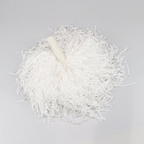 veni-masee-1-pair-straight-handle-cheerleading-pom-poms-price-2-pieces-005-kg-piece-white