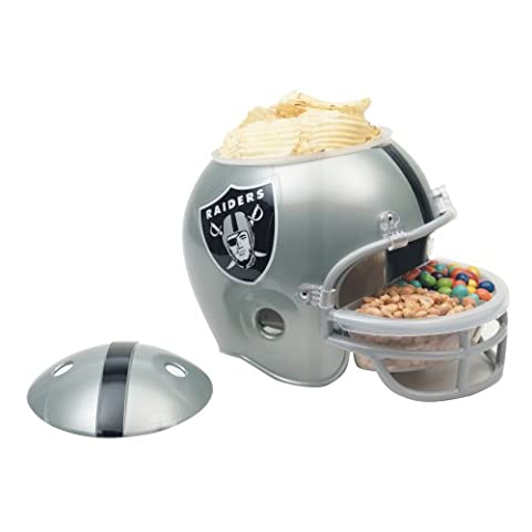NFL Snack Helmet Oakland Raiders