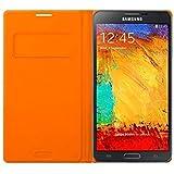 Samsung EF-WN900BOEGWW Flip Wallet Case für Samsung Galaxy Note 3 N9005 inkl. Visitenkarten fach Wild orange