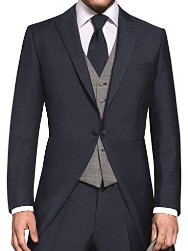 Cutjacke Präsident von Wilvorst, Mitternachtsblau, Slimline Größe 50 (Cutaway-jacke)